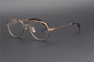Vintage Ultralight Titanyum çerçeve OG Anahtar Yüksek kaliteli optik gözlük çerçeve erkekler kadınlar için reçete lens orijinal kutusu kasa