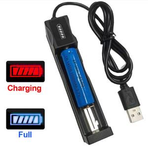 ذكي USB فتحة 3.7V ليثيوم ايون العالمي شاحن بطارية واحدة مناسبة ل18650 26650 32650 18500 14500 قابلة للشحن D4 UM2
