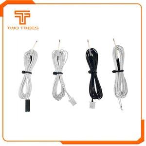 Impression 3D imprimante Pièces Accessoires 5pcs / lot 100K ohms NTC 3950 Thermistances Capteurs avec câble Imprimantes 3D Pièces Partie de la température ...