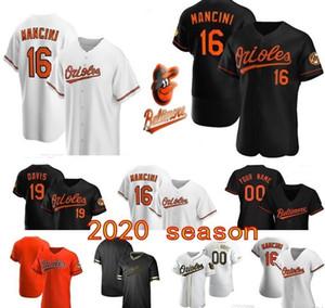 2020 niños Trey Mancini Renato Núñez Jonathan Villar Pedro Severino Río Ruiz Probabilidad Sisco Chris Davis Jersey Hombres Mujeres jóvenes camisetas de béisbol