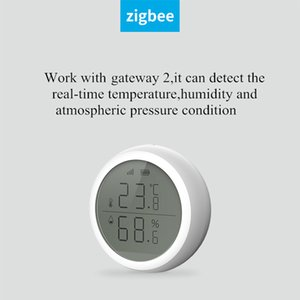 Tuya Zigbee 3.0 Smart Home WIFI Wireless Temperature Sensor Home Automation Scene Security Alarm Device Temperature Sensor