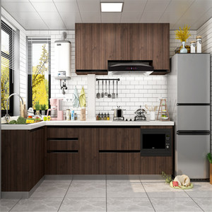 PVC Wood Wallpaper For Kitchen Films Reconditioned Clothes Closet Door Furniture For Home Office Decor Wall Sticker