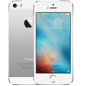"""Refurbished Original Apple iPhone 5S With Touch ID Unlocked Mobile Phone iOS 8 4.0"""" IPS HD Dual Core A7 GPS 8MP 16GB"""