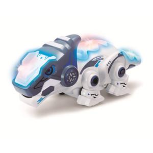 HY245 Dinosaurio 로보 공룡 장난감 원격 제어 카멜레온 2.4 RC 애완 동물 지능형 동물 로봇 키트 어린이 장난감 어린이