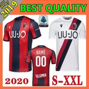 2019 2020 110 лет Болонья футбола трикотажных изделий 19 20 дом AWAY Orsolini Сориано Sansone Skov Olsen ограниченное издание футбольные рубашки