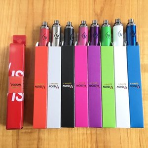 Top Vision II 1650mAh Ego twist 3.3 4.8V vision spinner 2 variable voltage 510 thread battery fit Electronic cigarettes ego atomizer
