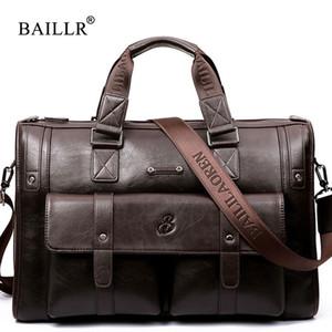 Leinasen Marke Hohe Kapazität Männer Aktentasche Business Messenger Handtaschen Männer Taschen Laptop Handtasche Tasche Männer Reisetaschen Hochwertige Y19061803