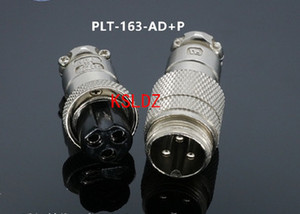 Free shipping lot (2 pieces lot)original New PLT APEX PLT-163-AD+P PLT-163-AD-R PLT-163-P-R 3PINS Aviation Plug and Socket Connector