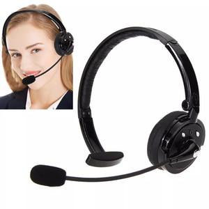 Para PS3 Juegos de PC estéreo inalámbrica Bluetooth M10B mano libre Auriculares manos libres para el reproductor de MP3 y Smartphone Negro para Office