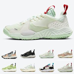 J Delta SP Sail Vachetta Tan Proto Reagire modelle Jade Aura scarpe da basket Delta Nero Bianco Rosso Varsity Multi-Colored Womens Mens Sneakers