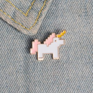 Brooch Ins Fashion Cool Decorative Cute Unicorn Pin Fixed Clothes Pendant Creative Small Jewelry Badge Buckle