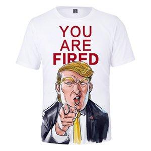 Başkan Trump sızmasına tişört Trump Komik 3D Baskı tişört Tops Vintage Moda Streetwear Yuvarlak Yaka Kısa Kollu Gömlek Noel