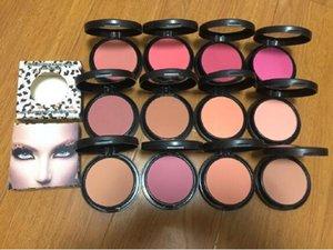 (Em estoque) DHL transporte livre! nova maquiagem de alta qualidade 12 cores sheertone Blush em Pó 15g quente!
