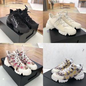 Baskı D-Bağlan Grafiti Deri Yıldız Parti Elbise Shoes Sneaker Vintage Kadınlar Ayakkabı Lüks Günlük Ayakkabılar Tasarımcı Kadınlar Platformu Sneaker