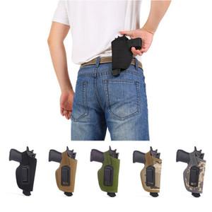 Тактический IWB скрытый пояс кобура клип на переноске правая рука пистолет кобура ремень сумка для малолитражных пистолетов наружные аксессуары