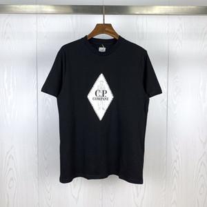 20SS 디자이너 셔츠 브랜드 남성 CP 셔츠 회사 디자이너 t- 셔츠 여자 럭셔리 TOP 티 CP 의류 여름 봄 스웨터 20033002L