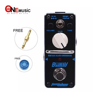 New AROMA ABY-3 BLUESY Vintage Overdrive for Blues Mini Analogue Effect True Bypass