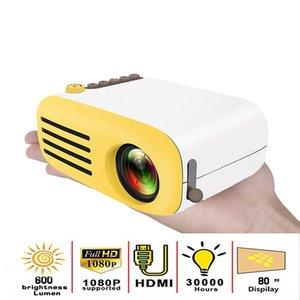YG200 LED 프로젝터 미니 프로젝터의 USB 프로젝터 미디어 플레이어 600 루멘 3.5mm의 오디오 320X240 픽셀 HDMI 크기 13.5x10x6cm 하락 선박