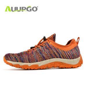 Auupgo N Mens traspirante scarpe da trekking all'aria aperta scarpe da tennis scarpe da trekking unisex Outdoor Trekking Sandali Men Alpinismo Scarponi