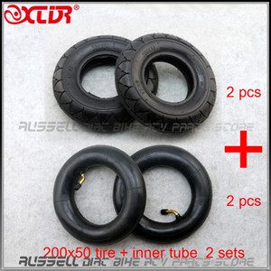 200x50 Tire + camera d'aria per Folding Scooter elettrico da 8 pollici E-Scooter Pocket Bike Razor E100 E150 E-200 2sets