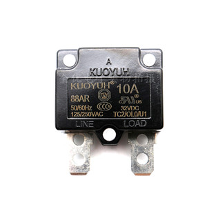 Taiwan KUOYUH Overcurrent Protector Overload Switch Automatic Reset 10A 88AR Series