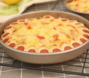 Rotonda 6,5 pollici cottura stampi per dolci teglia di cottura cookie strumenti di pizza e vassoio di pane delle famiglie