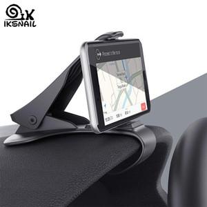 IKSNAIL Car Holder GPS del telefono HUD GPS universale del telefono Cradle Crocodile cruscotto staffa di montaggio di navigazione Clip per Guida Sicura