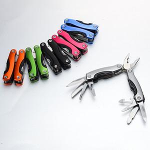 متعدد الوظائف للطي كماشة AA3 المحمولة البسيطة الفولاذ المقاوم للصدأ جيب طوي كماشة في الهواء الطلق أداة عالمية سكين أدوات اليد