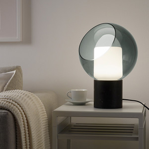 Marmo di vetro moderna base creativa Table Lamp Hotel Living Room Decor Desk Luce Apparecchio di illuminazione TA198