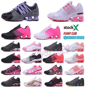 Nike Air Max Shox 809 803 R4 2020 Entregar 809 Air Running Shoes transporte da gota Atacado Famoso ENTREGAR OZ NZ Mens mulheres atléticas Sapatilhas Sports Running Shoes 36-40 G52