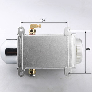 Freeshipping Booster One Set Lubricating Oil Pump Hand-Actuated Cnc Router Electromagnetic Lubrication Pump Lubricator Stainless Steel Body