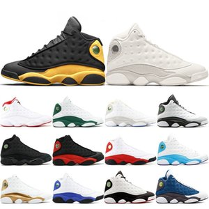 Vendita all'ingrosso New 13 13s Mens Basketball Shoes Class of 2002 allevato Black Cat He Got Game Chicago Hyper Royal XIII Mens Athletics Sneakers