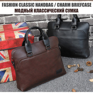 Handbags Men Bag Woman Man Laptop Briefcase Office Bags For Mens Messenger Briefcase Bolso Sac Computer Bag Homme Leather Hombre Smhxa