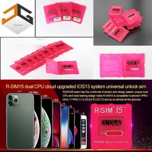 DHL libero Nuovo RSIM15 carta di sblocco Gevey carta universale per iPhone11PRO MAX XS x 8p 7p 6 CPU dual-sistema universale sbloccato dual-cor iOS13