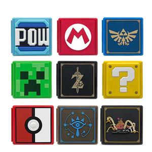 Nintend Switch Аксессуары Портативный Игровой Карточный Чехол Противоударный Жесткий Корпус Ящик Для Хранения Для Nintendo Switch NS Games