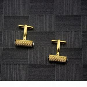 Mens T Shirt Cufflinks Small Gemelos Wedding Father Groom Groomsmen Gift Cuff Links Ornaments Jewelry