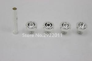 5 PCS   LOT Trumpet Mouthpiece Size 3C 5C 7C 1.5C Trompete Nozzle Set Silver Plated High Quality Trumpet Accessories Free Shipping