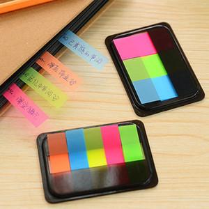 Yapışkan Mesaj Memo Renkli Office Okul Çizilmeye Kırtasiye Gökkuşağı Floresan Endeksi Not Defteri Sticky Notes Malzemeleri