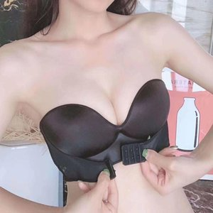 حمالات صدر بلا حمالات صدر النساء Super Push Up Bra Suxy Lingerie ... ... حمالات صدر غير مرئية ...