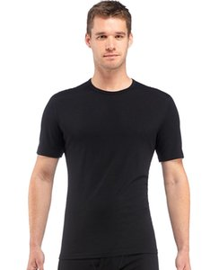 2018 Men Merino Wool T Shirt 100% Wool Super Soft camiseta de secado rápido Men 160g Tamaño M-xl Negro Y19060601