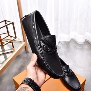 sapatos de feijão de couro homens britânico, verão sapatos da moda moda casual Causal costa 010701