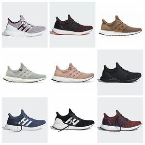 Ultra bost Koşu Ayakkabı 3.0 4.0 Erkekler Kadınlar Çizgili Balck Beyaz Oreo Tasarımcı Sneakers Ultrabost Spor Ayakkabı Koşu Boyut 36-45