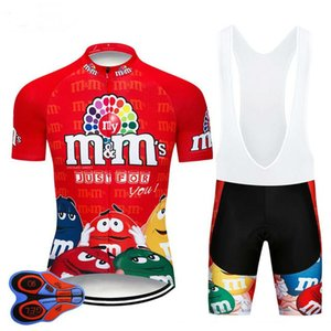 2020 Lustige RED Team Radtrikot 19D Bike-Shorts Ropa Ciclismo MEN MTB Pro Sommer BICYCLING Maillot unten Kleidung tragen
