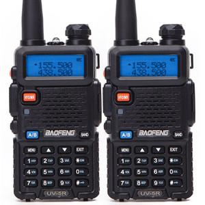 2PCS Baofeng BF-UV5R Amateur Radio portatile Walkie Talkie Pofung 5W VHF / UHF 888s due bande radio bidirezionale UV 5r CB Radio Baofeng