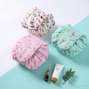 Cosmetic Bag Nuova Lazy bag immagazzinaggio conveniente coulisse sacchetto stringa portatile grandi signore di viaggio capacità di custodia Draw per A07 viaggio