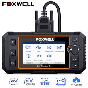 Foxwell NT644 Elite de todo el sistema OBD2 DPF TPS EPB SAS TPMS aceite reajustó la herramienta de diagnóstico del coche profesional ODB2 explorador auto