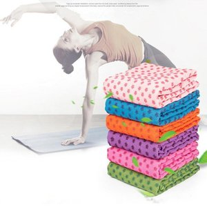 Yoga Mat Towel Blanket non-slip microfiber surface rectangular carpet sofa Carpets Dots High Moisture Quick Drying Outdoor Yoga Mats D754