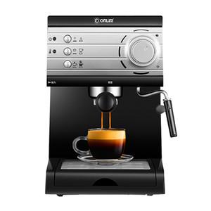 Ucuz İtalyan 20 Bar Yüksek Basınçlı Buhar yarı otomatik Espresso Kahve Makinesi forhome Comercial Süt Kabarcık Kahve Makineleri