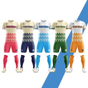 2019 2020 DIY пользовательские сублимации пустой футбольная форма комплект бесплатный дизайн футбол команда рубашка топы быстро сухой дышащий мужские футбольные майки