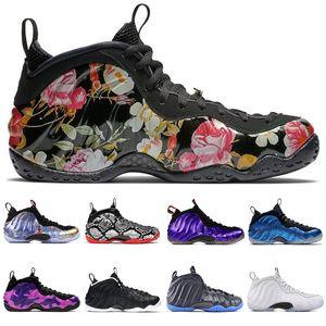 2020 Yeni Penny Hardaway Erkek Basketbol Ayakkabı MOR CAMO SNAKESKIN ABD FLORAL KNICKS KRALIYET BULE METALIK KıRMıZı spor sneakers boyutu 7-13